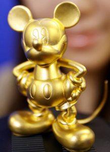 มิกกี้เมาท์ทองคำ