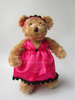 ตุ๊กตาพรีเมี่ยม ตุ๊กตาหมียืน 10 นิว น้ำตาล